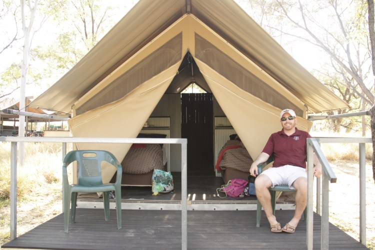 Glamping Tent in the Bungles