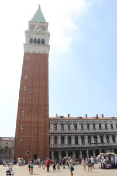 Take an Elevator ride to the top of the San Marco Campanile