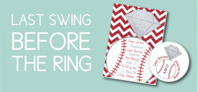 All the Items to Throw a Last Swing Before the Ring Bachelorette Party
