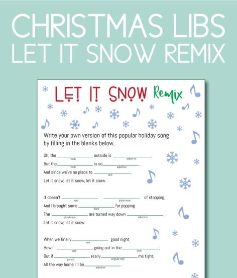 Christmas Libs, Let it Snow Remix