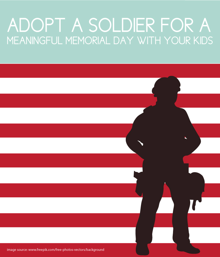 Adopt a soldier for a meaningful Memorial Day activity