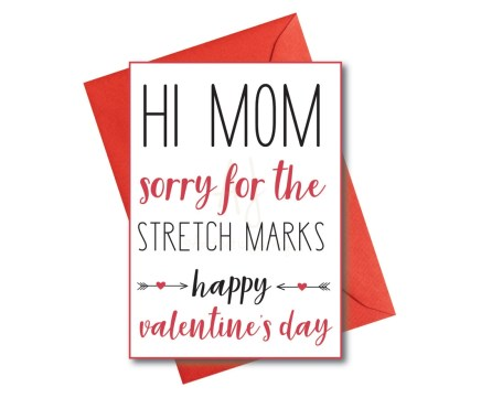 Valentine's card for Mom