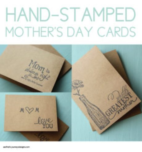 Mother's Day Stamped Cards