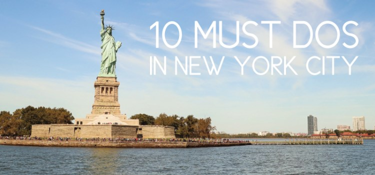 10 touristy new york city activities