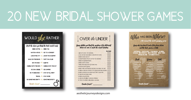 new bridal shower games 20 themed ideas that will make your bridal shower a hit