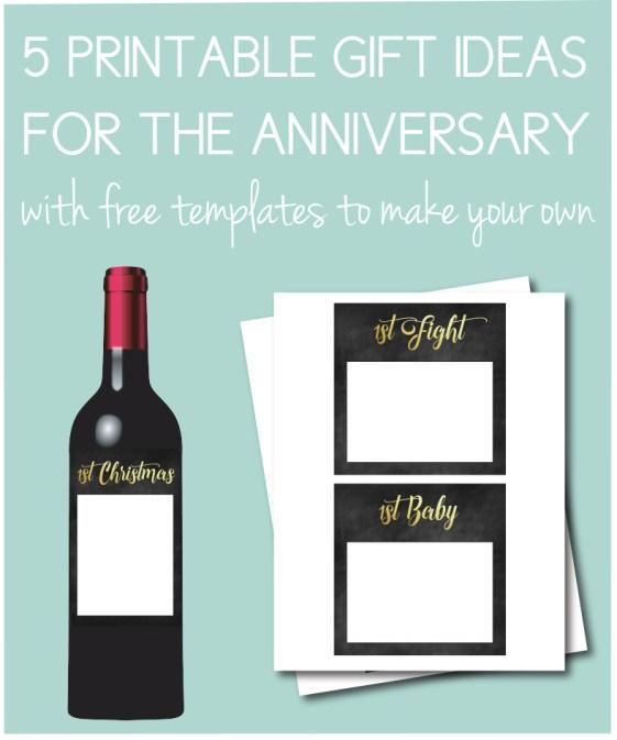Printable Gift Ideas