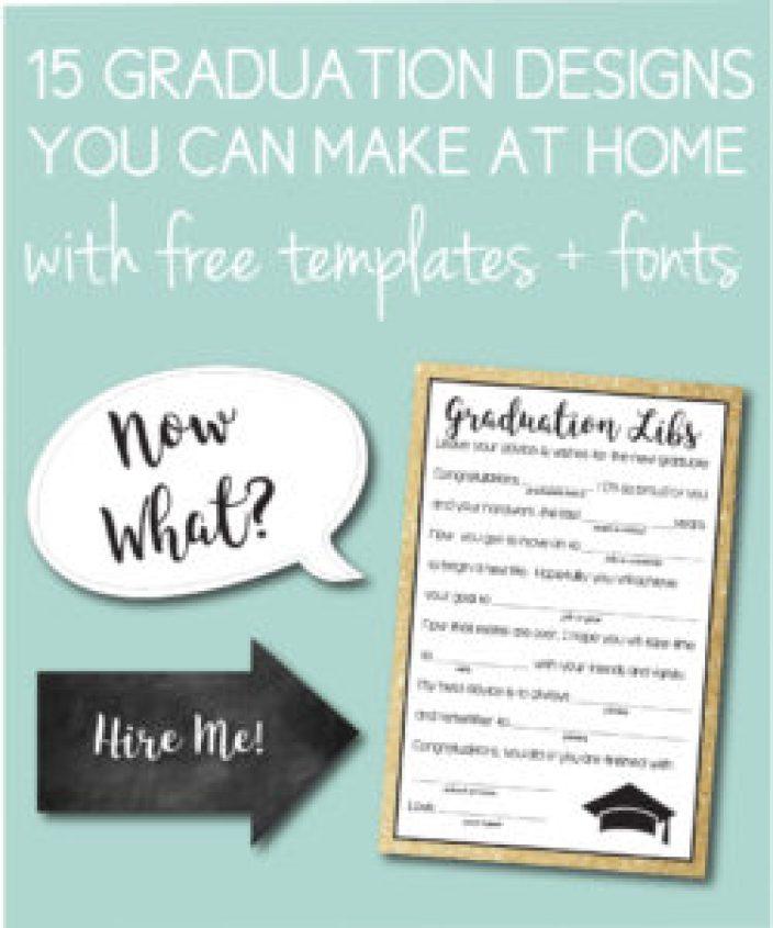 Printable Graduation Designs
