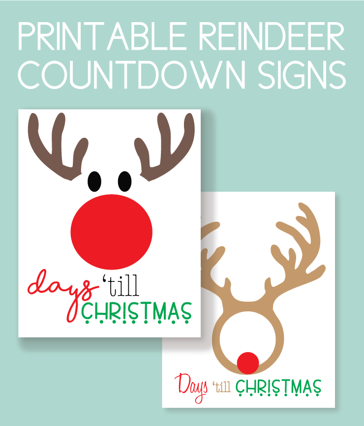 printable christmas instant downloads