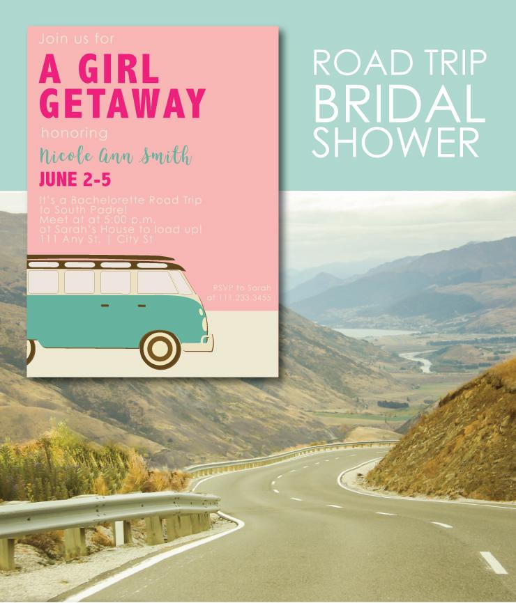 Road Trip Bridal Shower