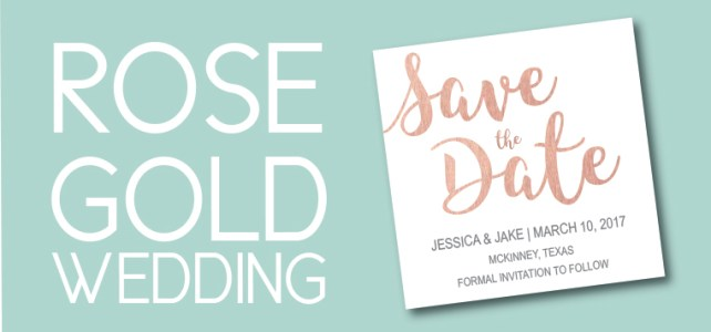Rose Gold Wedding Invites So Gorgeous You'll Fall In Love With Them