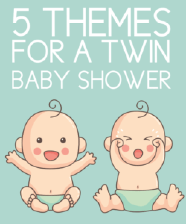 5 Perfect Baby Shower Themes For Twins Free Graphics