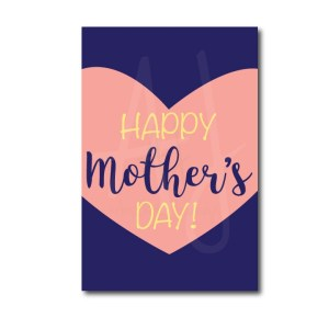 Classic Mother's day card