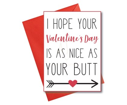 Valentine's card for spouse