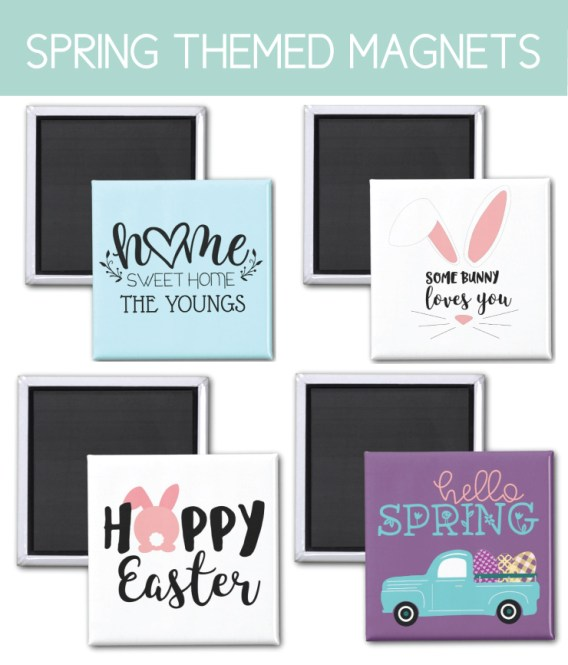 Spring Themed Magnets