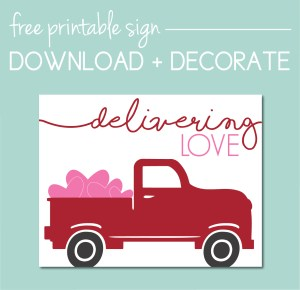 Download a Free Valentine's Sign on the Journey Junkies Page
