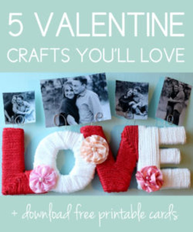 Valentine Crafts You Ll Love 5 Items You Can Make At Home