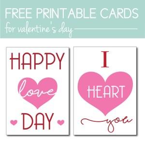 Free Printable Easy Valentines Decor