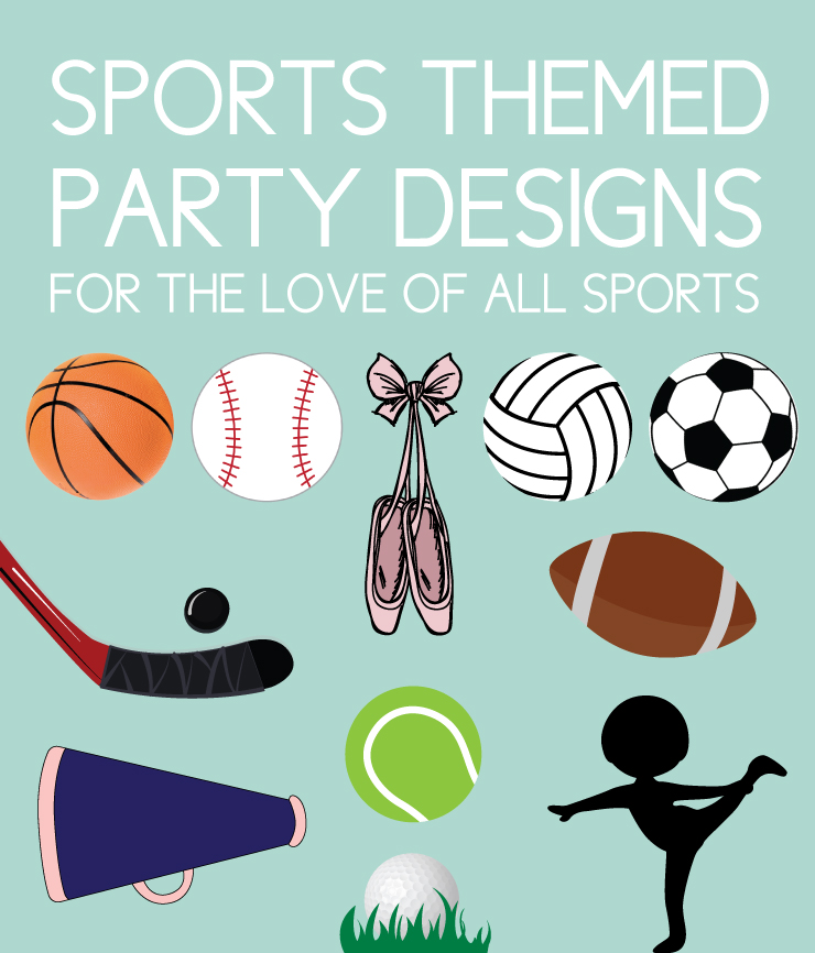 sports party invites for all sports