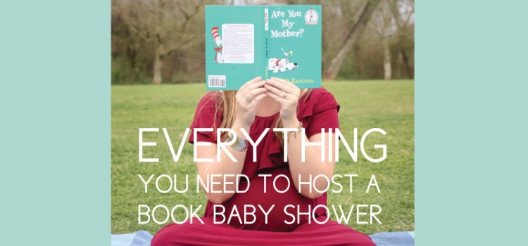 host a book themed baby shower