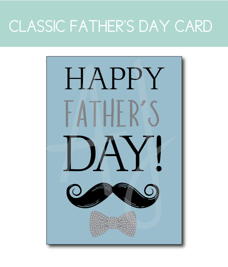 Classic Father's Day Card