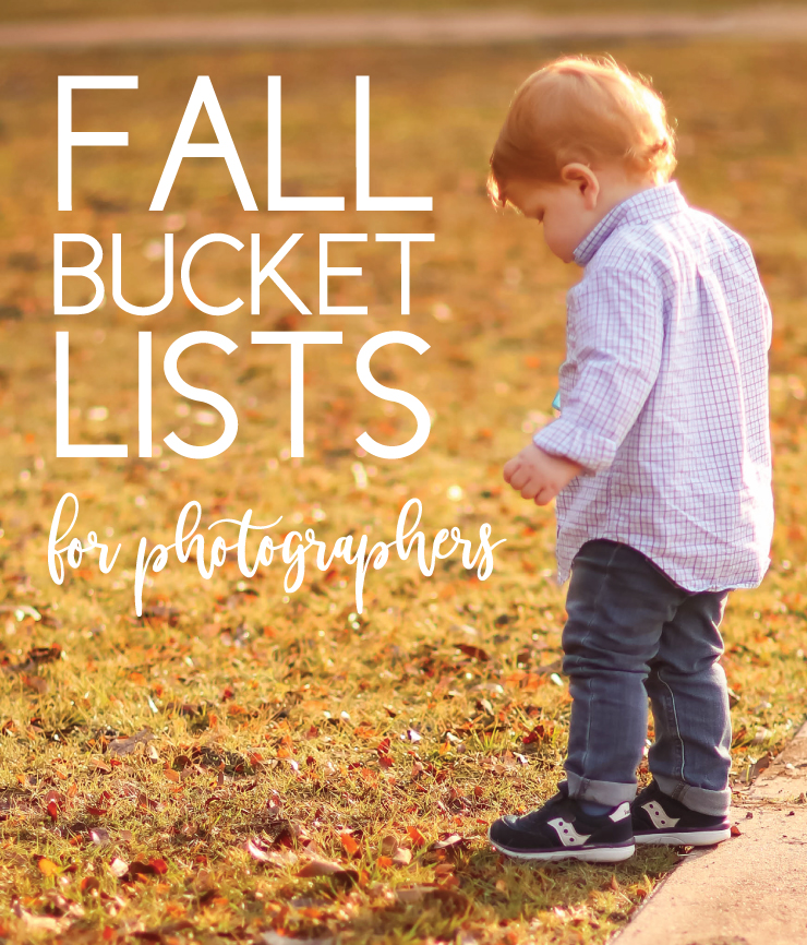 fall bucket lists for photographers