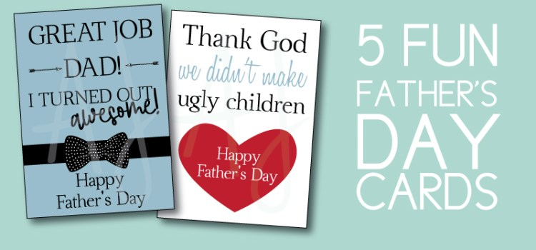 5 Father's Day Cards