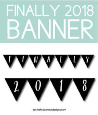 Finally 2018 Graduation Banner