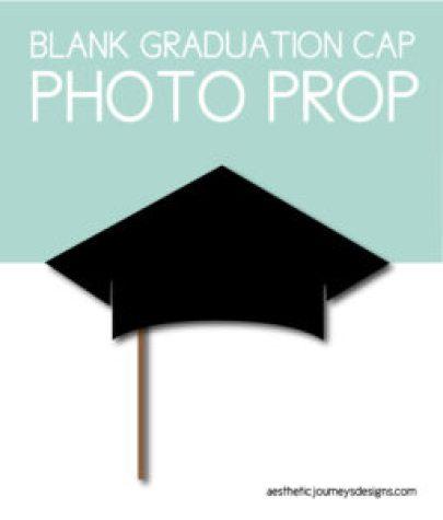 Graduation Cap Photo Prop