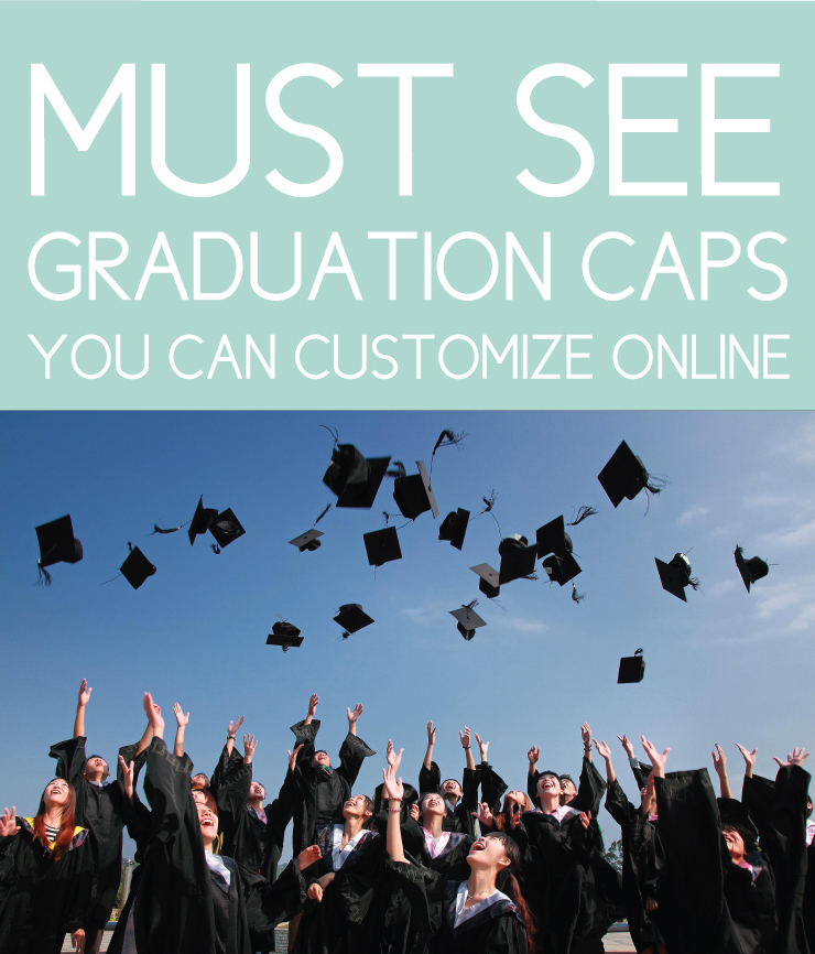 Graduation caps you can customize online