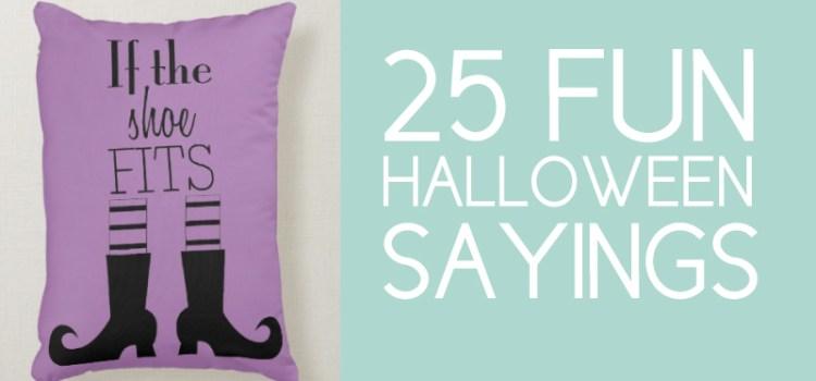 Fun Halloween Sayings