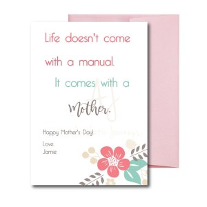 Card for Mother's Day