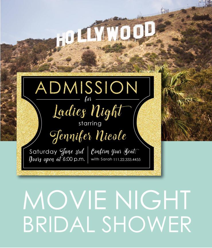 Movie Themed Bridal Shower Idea