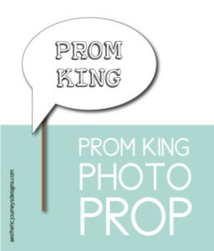 Prom King Photo Prop