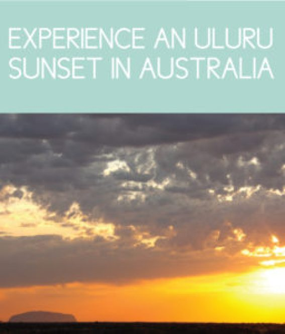 Experience an Uluru Sunset