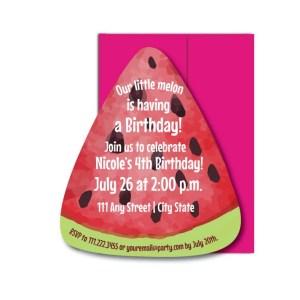 Watermelon Party Invite