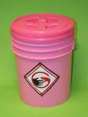 Pink Snake bucket system