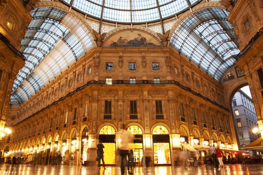 Exploring Milan  More than Just the Fashion Capital of the World   AESU Vittorio Emanuele II Gallery  Milan  Italy
