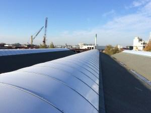 Asbestsanering met nieuwe lichtstraten