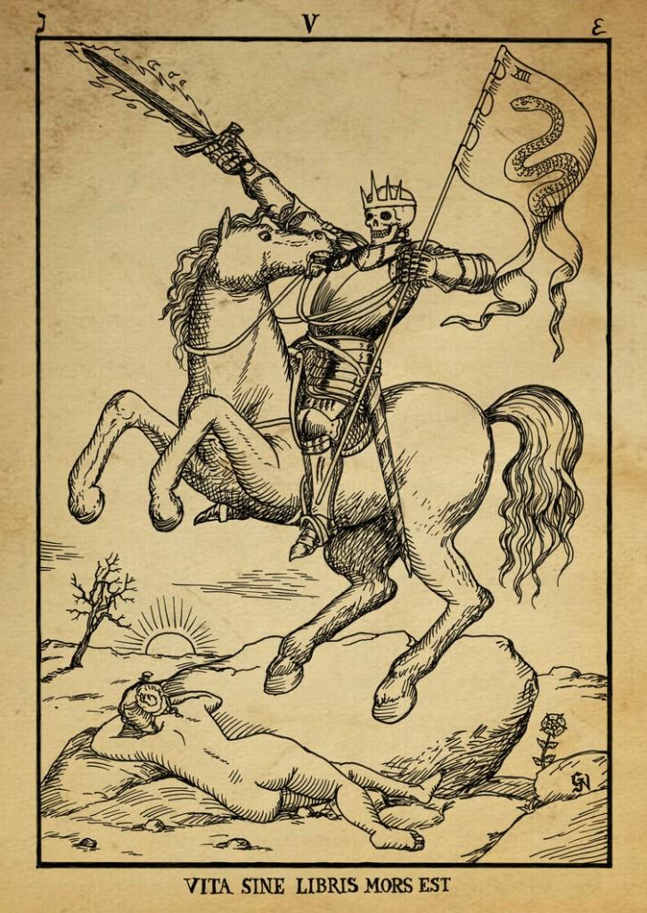 alchemy_woodcut_vita_sine_libris_mors_est_by_dashinvaine-d62i3bb