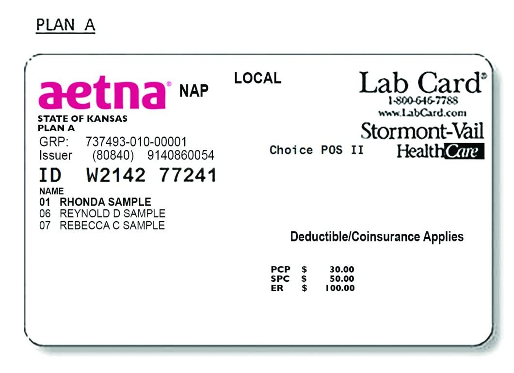 aetna insurance card template  Aetna Dental Ppo Id Card | Inviletter.co