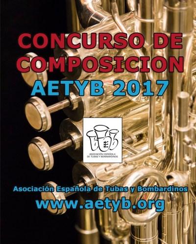 CONCURSO DE COMPOSICION AETYB 2017 - cartel