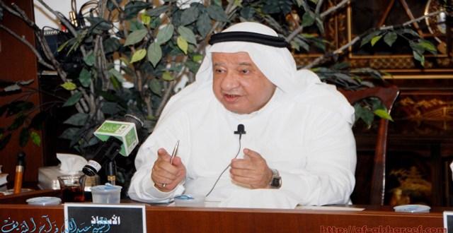 صورة الشريف عبدالله فراج من محاضرة الأديب محمد عبدالجبار