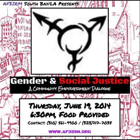 SBLA Gender and Social Justice