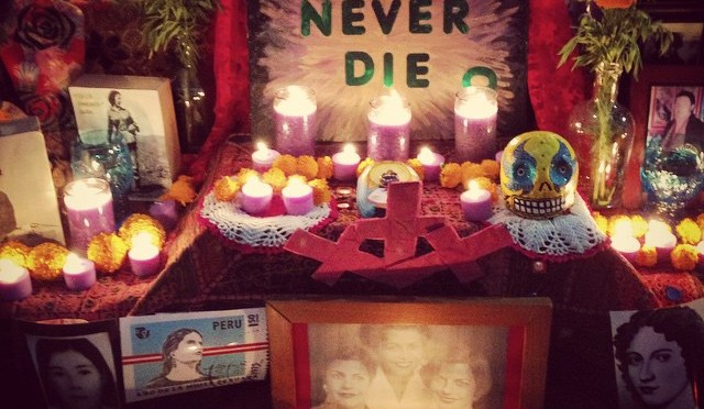 16 Days of Women's Activism: AF3IRM-NY/NJ Sets Up Altar to Commemorate our Missing, Murdered, & Trafficked Sisters Worldwide