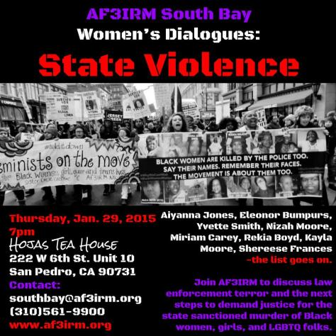 Women's Dialogues: State Violence
