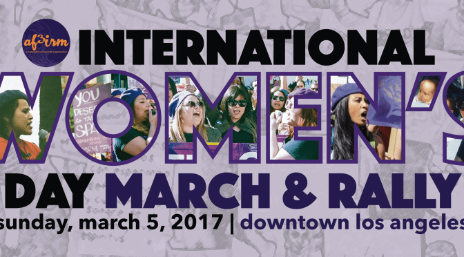 Women of Color to Take Over Downtown Los Angeles for the Third Straight Year in honor of International Women's Day