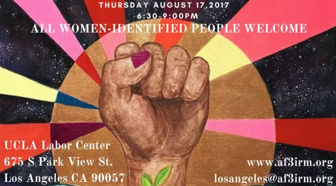 Join AF3IRM Los Angeles for Our Upcoming Women's Assemblies!