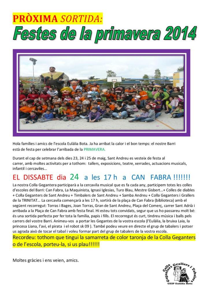 PRÒXIMA SORTIDA 24-5-2014 Festa de la primavera 2-page-001