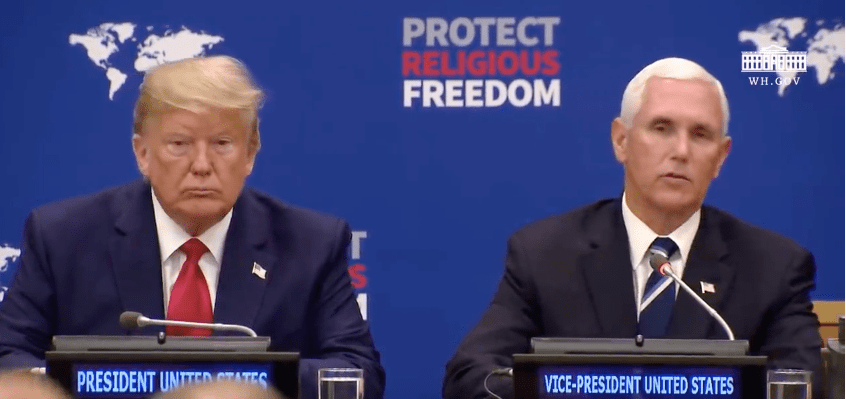 Trump, Pence take Stand for Religious Freedom!