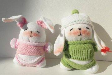 fabriquer-lapin-chaussettes